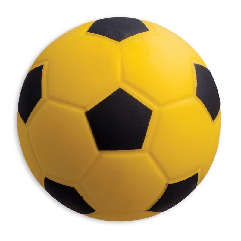 COATED HIGH DENSITY FOAM BALL  SOCCER BALL SIZE 4