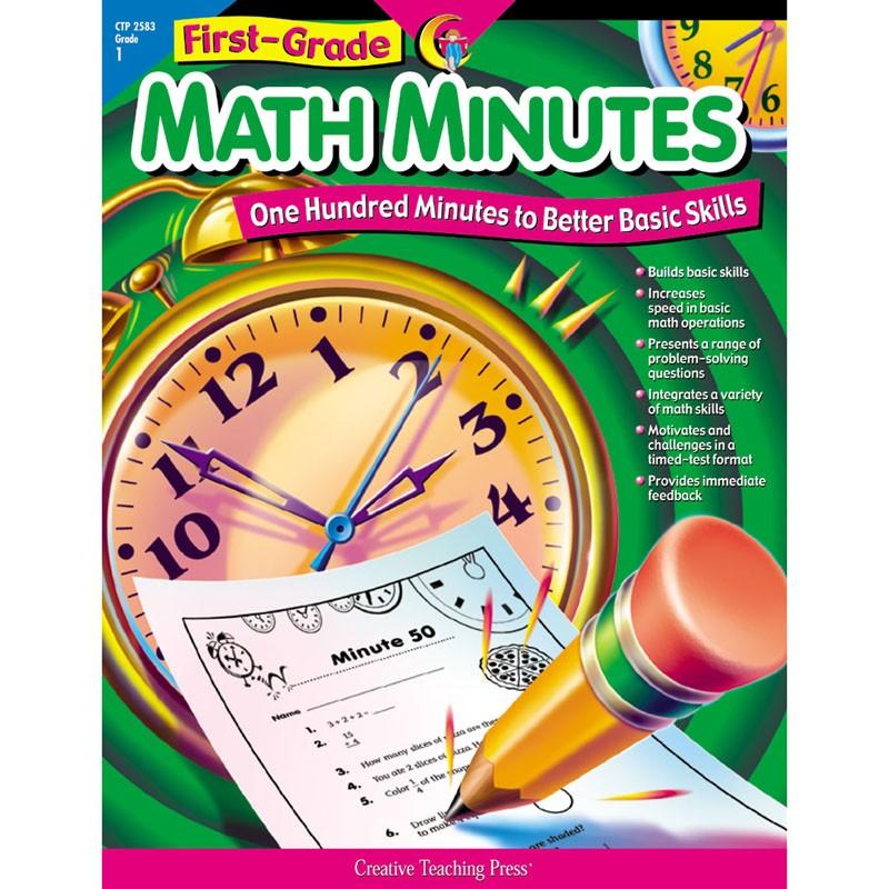 First-Gr Math Minutes