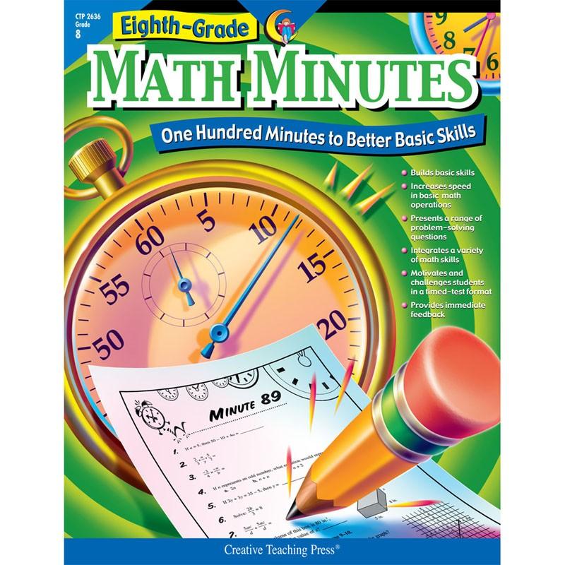 MATH MINUTES - 8TH GR