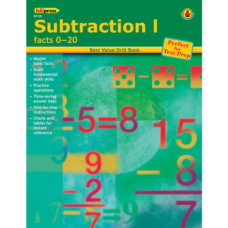 SUBTRACTION 1 FACTS 0-20