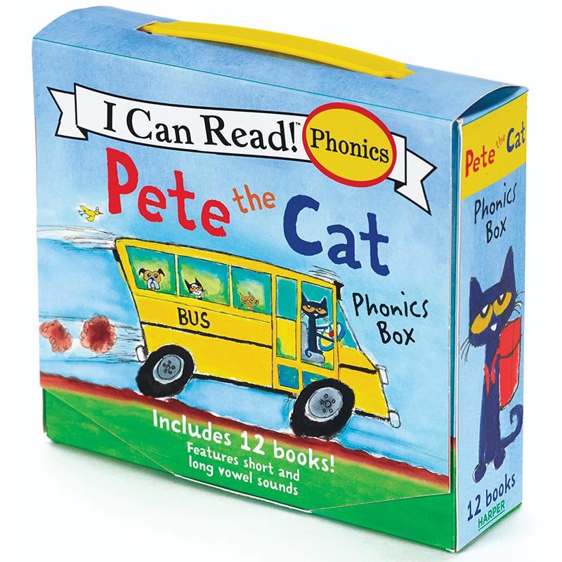PETE THE CAT 12 BOOK PHONICS SET