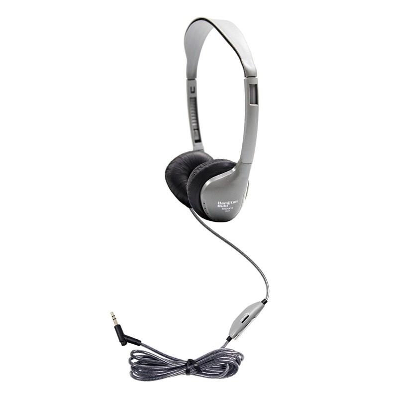 (3 EA) PRSNL STEREO MONO HEADPHONES  LEATHERETTE EAR CUSHIONS W/ VOLUME
