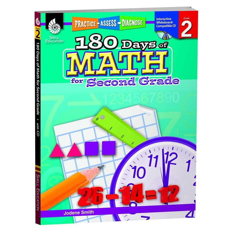180 DAYS OF MATH GR 2