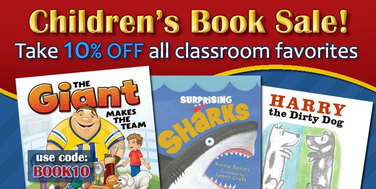 10% Off Classroom Favorites Books