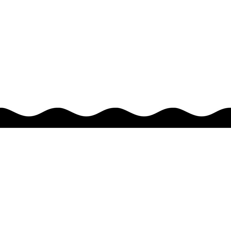 (6 PK) MAGNETIC BORDER BLACK