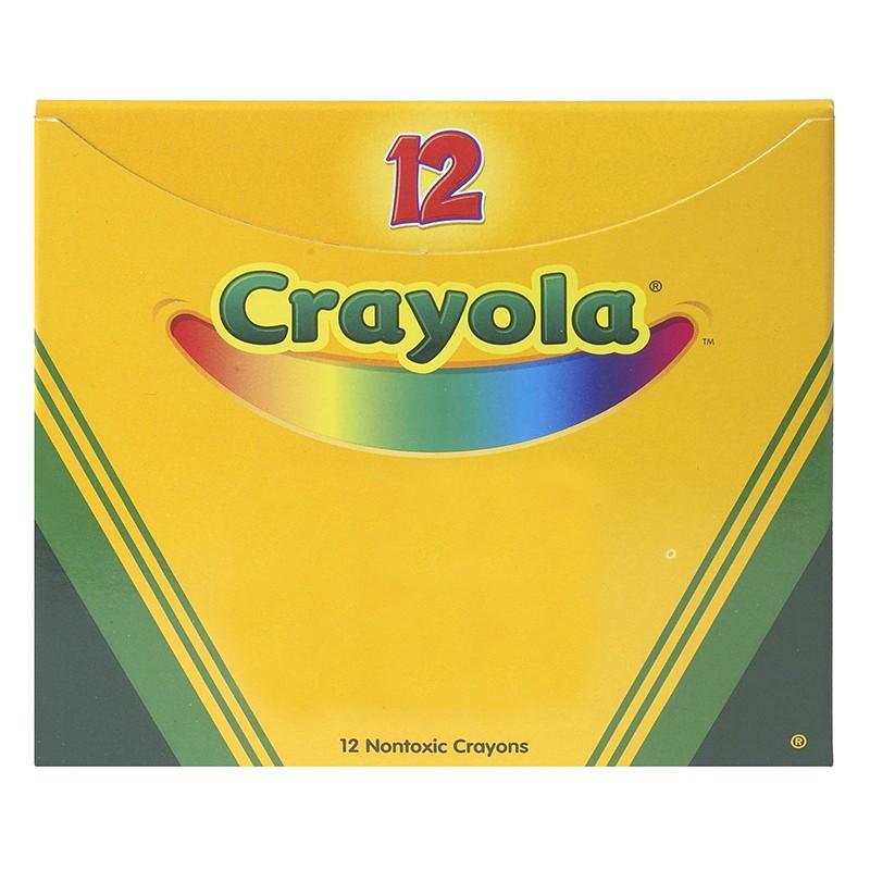 CRAYOLA BULK CRAYONS 12CT BLACK