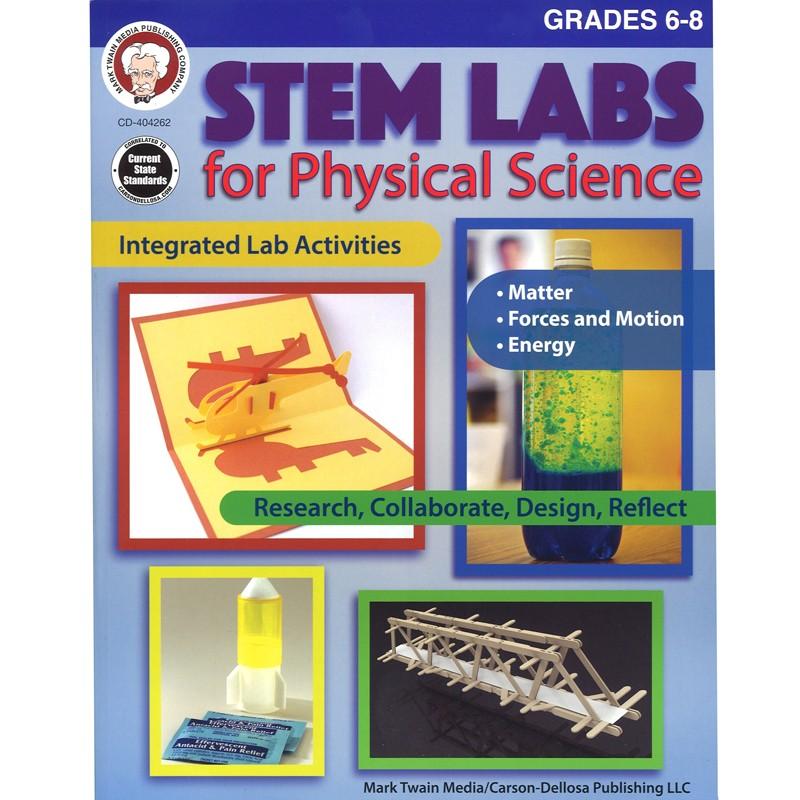 STEM LAB PHYSICAL SCIENCE BK GR 6-8