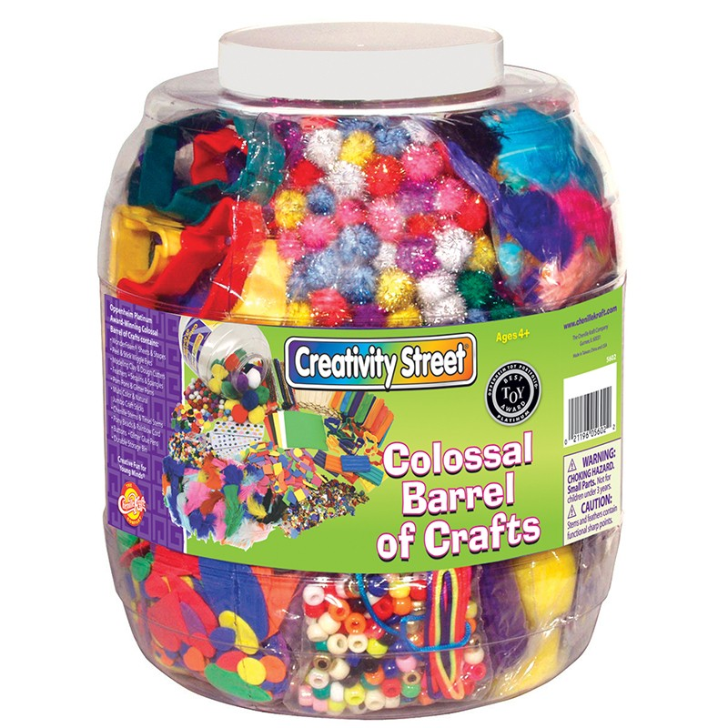 COLOSSAL BARREL OF CRAFTS
