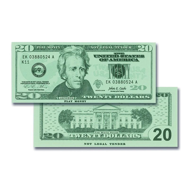 $20 BILLS SET 100 BILLS