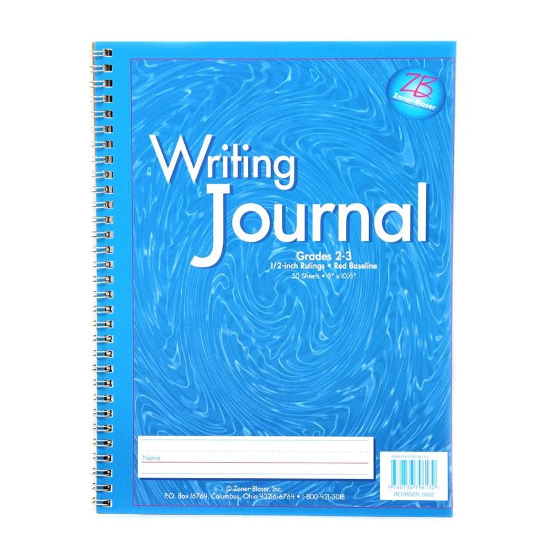 MY WRITING JOURNAL BLUE GR 2-3