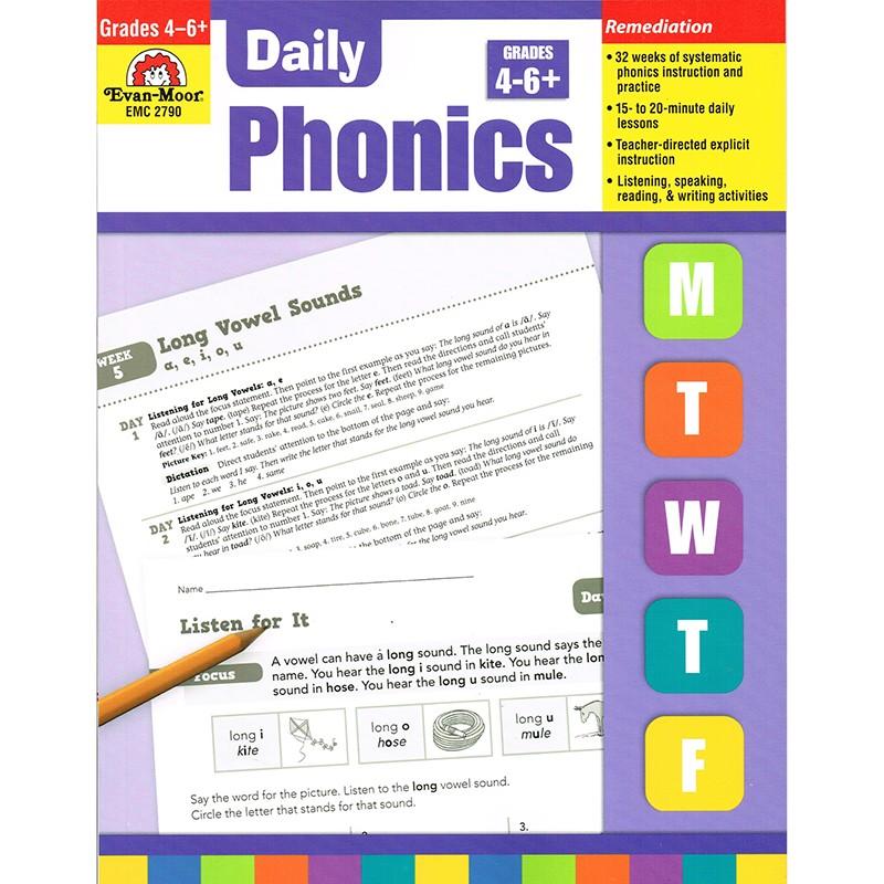 DAILY PHONICS PRACTICE GR 4-6