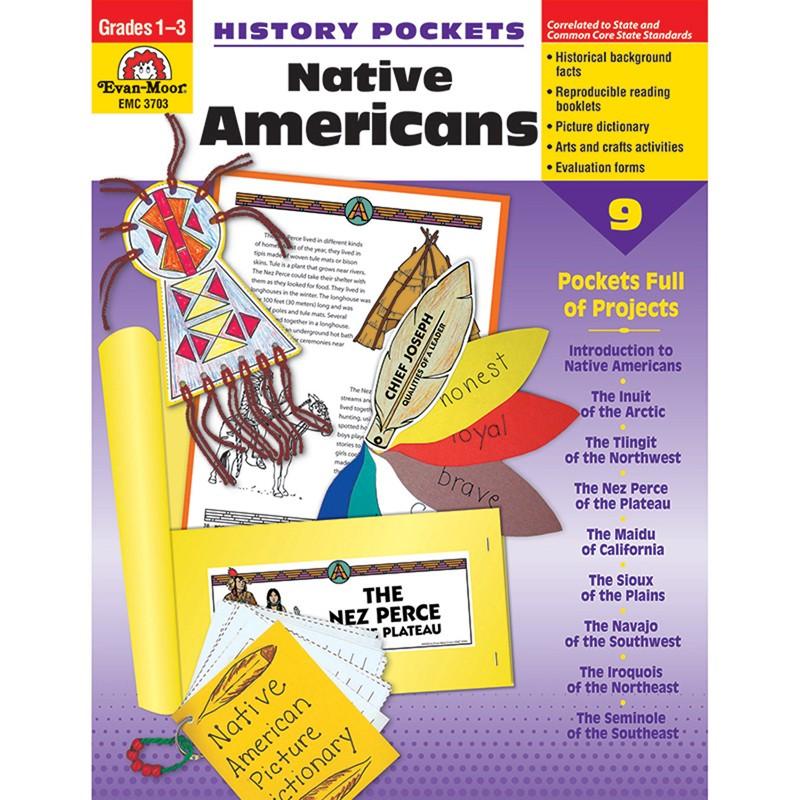 HISTORY POCKETS NATIVE AMERICANS