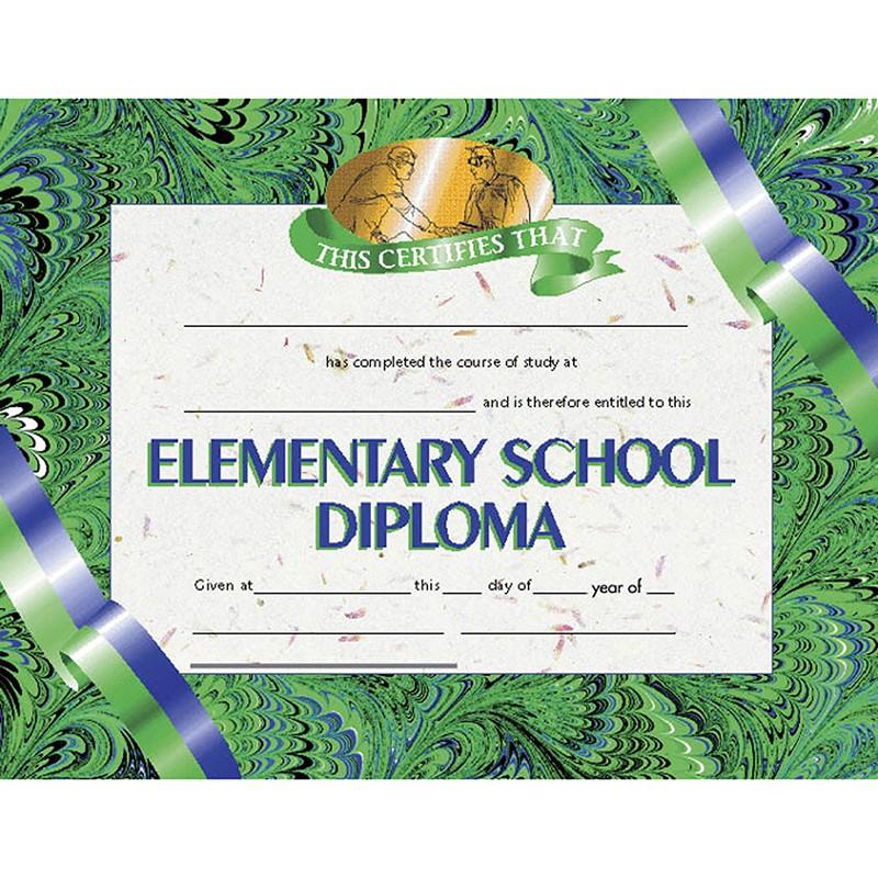 DIPLOMAS ELEMENTARY SCHOOL 30 PK  8.5 X 11