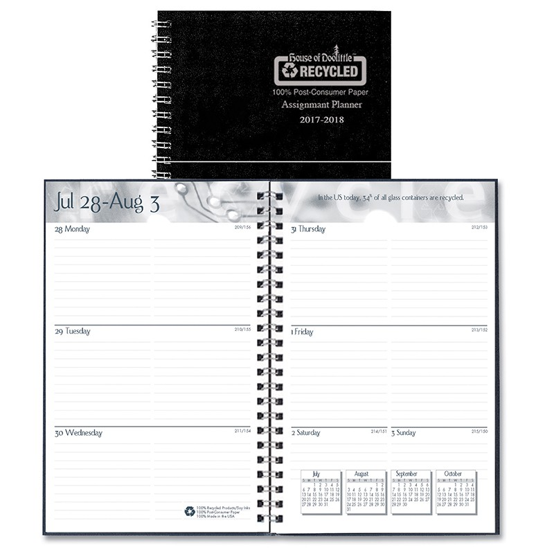 (3 EA) ACADEMIC WEEKLY ASSIGNMENT  BOOK BLK