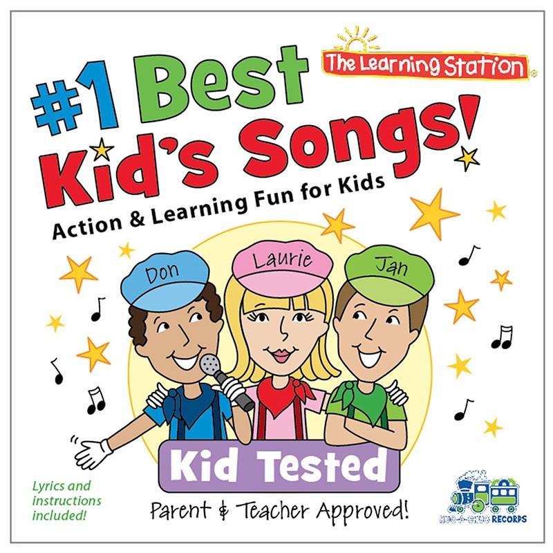 NO1 BEST KIDS SONGS CD
