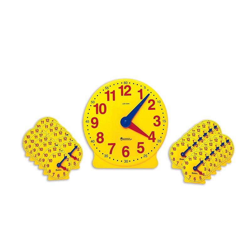 CLASSROOM CLOCK KIT 2094 & 24 MINI  CLOCKS
