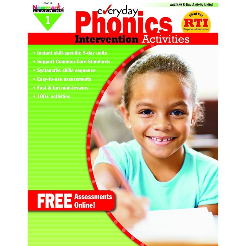 EVERYDAY PHONICS GR 1 INTERVENTION  ACTIVITIES