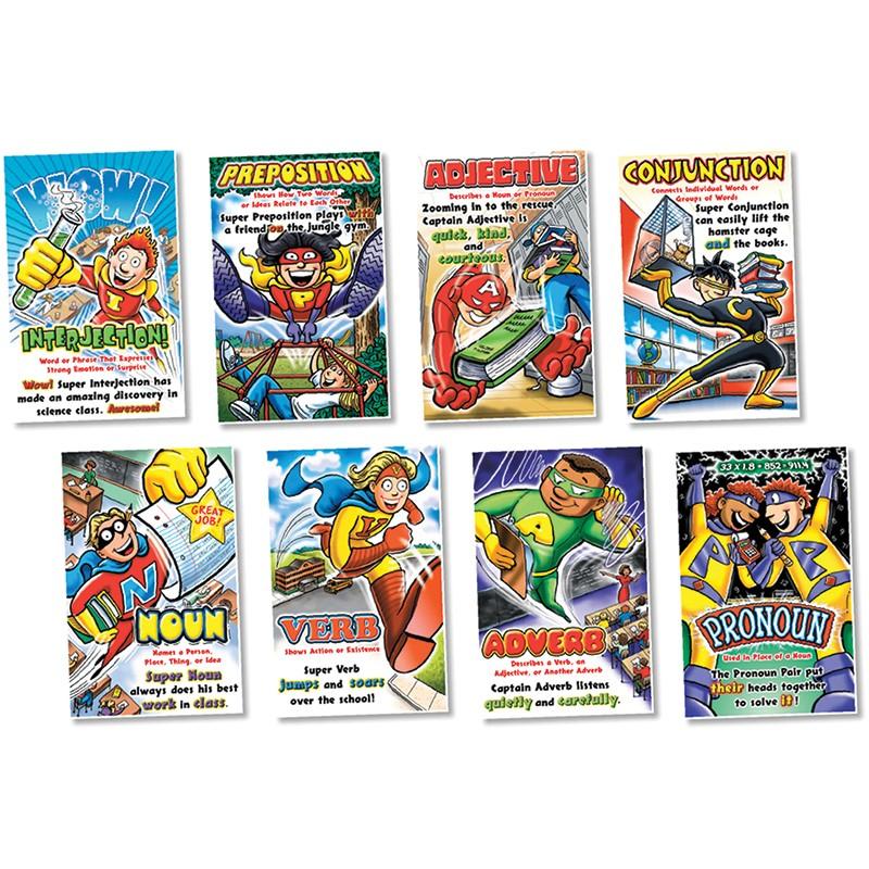 PARTS OF SPEECH SUPERHEROES