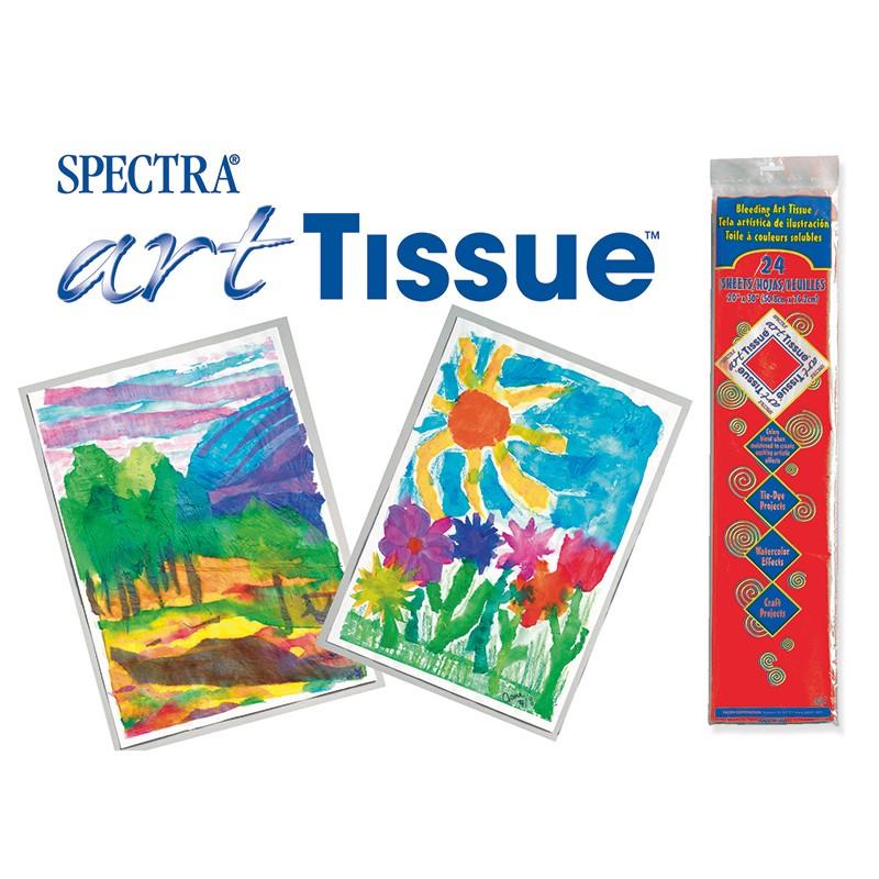 (5 PK) SPECTRA TISSUE QUIRE SCARLET