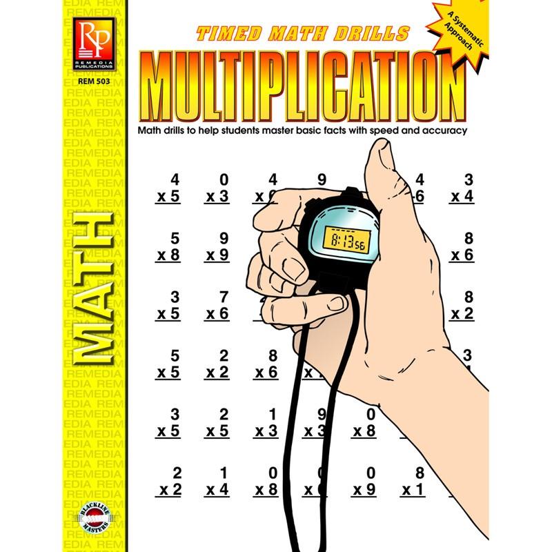 TIMED MATH DRILLS MULTIPLICATION