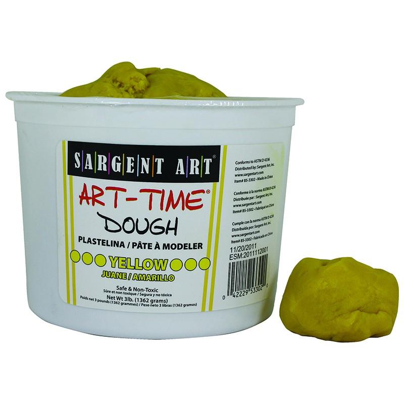 3LB ART TIME DOUGH - YELLOW