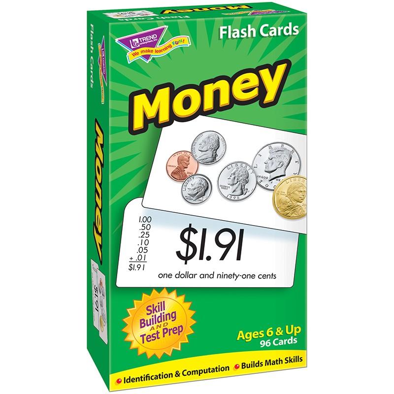 FLASH CARDS MONEY 96/BOX