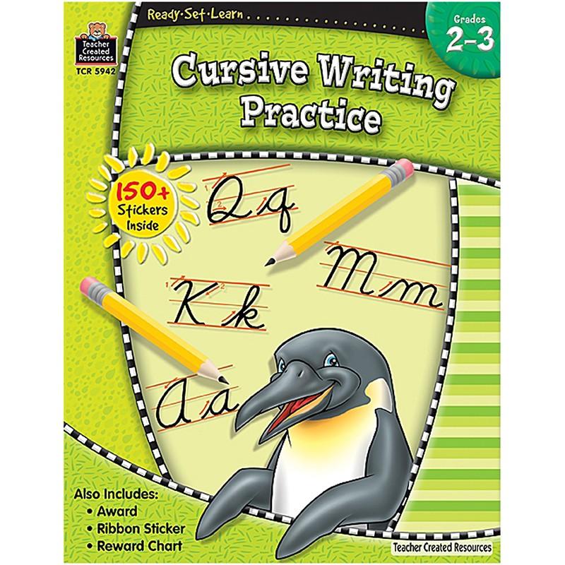 READY SET LEARN CURSIVE WRITING  PRACTICE GR 2-3