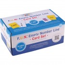 FUN EMPTY NUMBER LINE CARDS ONLY GR  2-3
