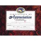CERTIFICATES OF APPRECIATION 30 PK  8.5 X 11