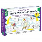 WRITE ON/WIPE OFF READ & WRITE 1ST  FIRST WORDS AGES 4+