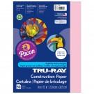 TRU RAY 9 X 12 PINK 50 SHT  CONSTRUCTION PAPER