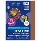 TRU RAY 9 X 12 BROWN 50 SHT  CONSTRUCTION PAPER